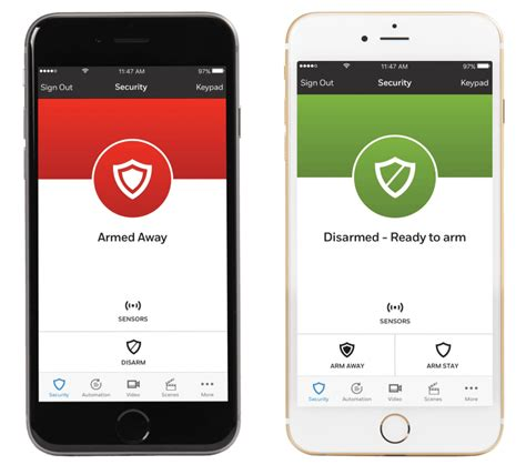 home automation and security for mobile devices home automation and monitoring from your smartphone
