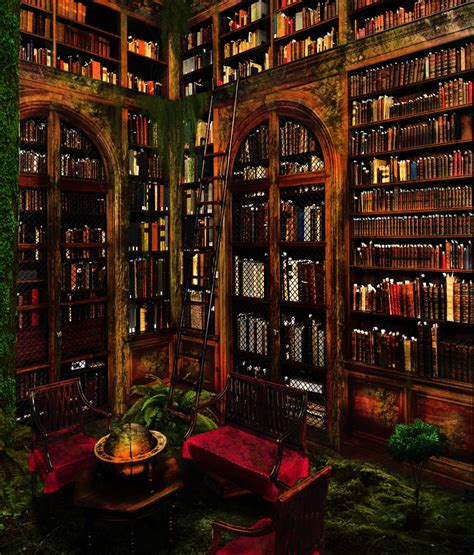 The Lost Library lost library by pankreas67 on deviantart