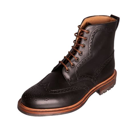 exclusive shoes for alfred sargent exclusive mens lombard black leather shoe