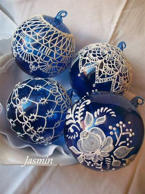 painted christmas balls 25 best ideas about blue decor on blue 2014 decor