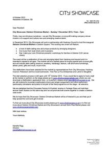 Live Christmas Tree Rental - event dalston square residents association