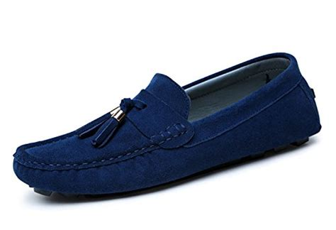 Loafers Import Quality Cirohuner S Casual Suede Loafers Slip On Driving Shoes
