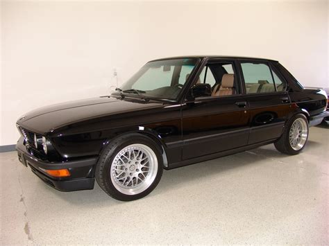 1988 Bmw M5 For Sale by Low Mileage 1988 Bmw M5 Previously Owned By Frank Gerber