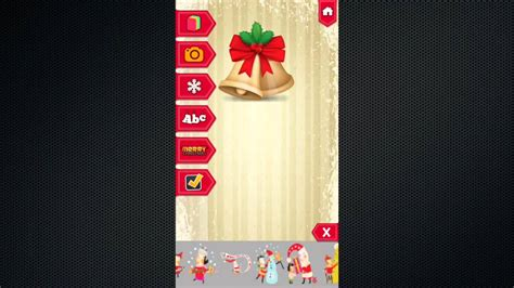 merry christmas card maker   card ios app demo buy source code youtube