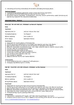 sle resumes for networking freshers resume template of a computer science engineer fresher