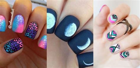 imagenes uñas decoradas juveniles im 225 genes de u 241 as decoradas cortas con bonitos dise 241 os