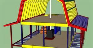 Carport Garage Designs gambrel roof cabin 16x24 weekend retreat pinterest