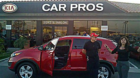 Car Pros Kia Of Carson by Ms Ayala Car Pros Kia Of Carson Sportage
