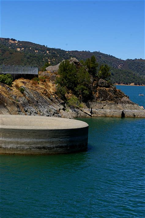 lake berryessa drain 120630 monticello dam lake berryessa drain hole flickr