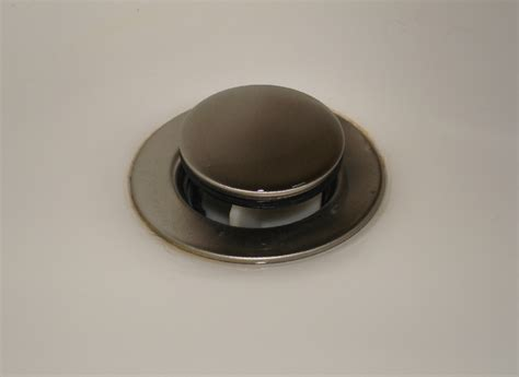 bathroom sink drain cover view topic sink drains plastic or metal home