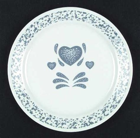 heart pattern dinnerware corning blue hearts corelle at replacements ltd page 1