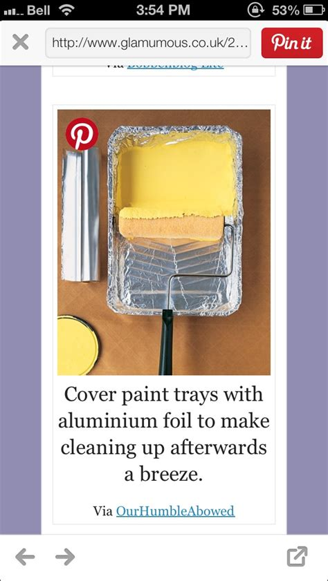 37 ways to deep clean the kitchen trusper cover paint trays with aluminum foil to make cleaning up