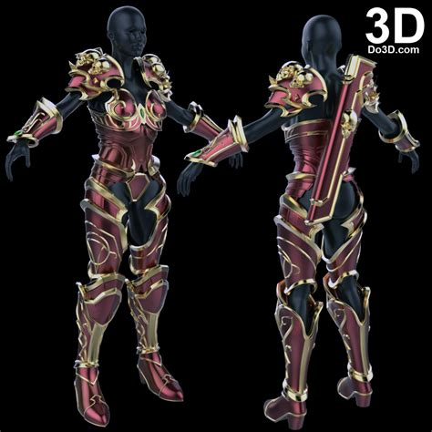 3d printable model world of warcraft wow lady sylvanas
