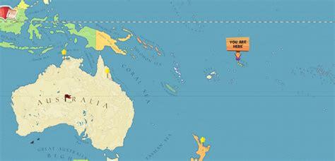 location of samoa on world map western samoa world map