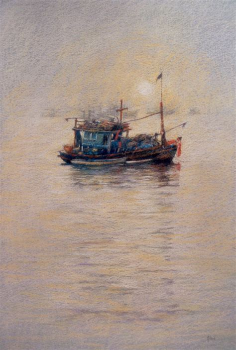 buy a fishing boat in thailand fishing boat pataya thailand painting by astridbruning