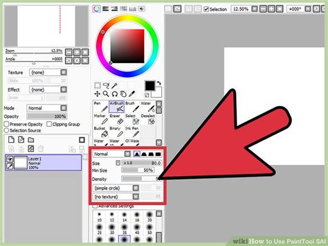 paint tool sai expand selection how to use painttool sai 10 steps with pictures wikihow