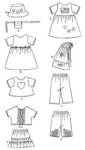 Butterick 3875 ag doll clothes sewing pattern