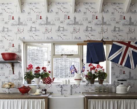blue kitchen wallpaper uk wallpaperdirect design ideas photos inspiration