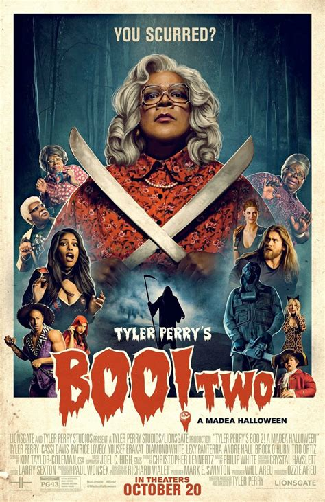 movies today tyler perrys boo 2 a madea halloween by tyler perry boo 2 a madea halloween dvd release date january 30 2018