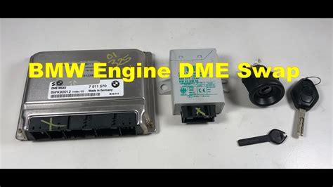 bmw    engine dme ews master key tumbler swap