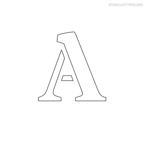 small printable letters free 9 best images of printable small stencils all letters