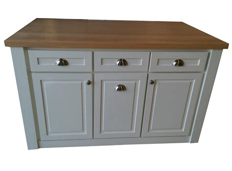 60 Kitchen Island 60 Quot White Kitchen Island Solid Wood Butcher Block Top With Trash Tray Hou 61 17 Ebay
