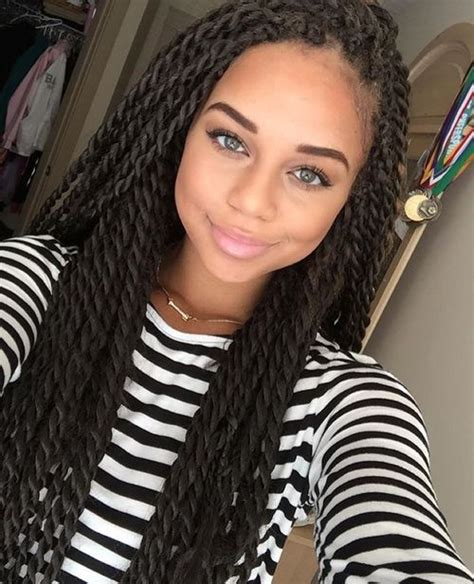 crochet braids st louis mo twists curly hair do s and protective styles pinterest