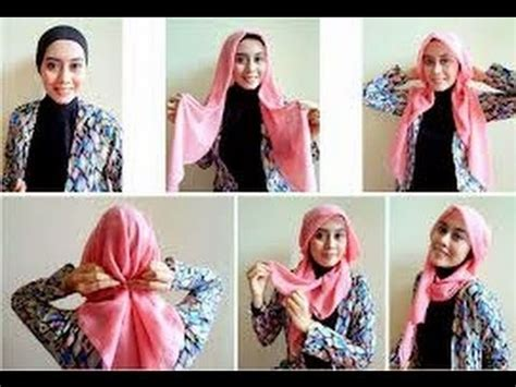 video tutorial hijab simple casual tutorial hijab paris simple casual
