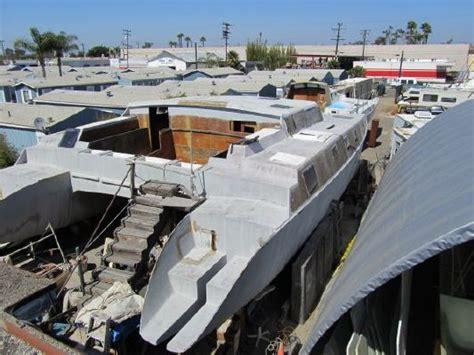 1990 kurt hughes design project catamaran boats yachts - Catamaran Project For Sale