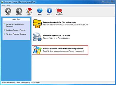 windows reset password genius password recovery ways tips password utility genius work