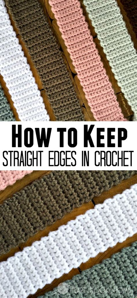 how to protect my edges how to keep straight edges in crochet