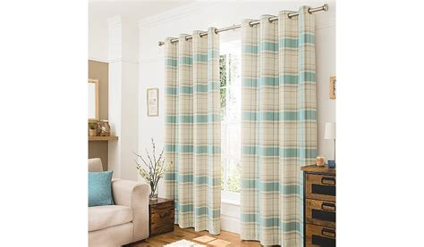 duck egg blue and red curtains george home duck egg blue woven check curtains curtains
