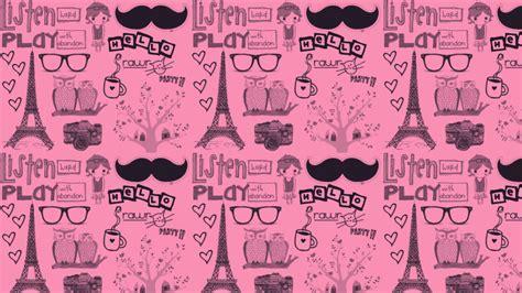 Pink Bedroom Ideas Pink Paris Wallpaper Wallpapersafari