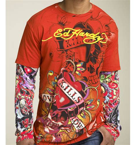 have you ever worn ed hardy in public off topic
