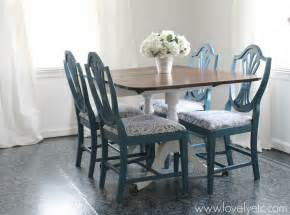 Gorgeous Dining Chair Transformation Lovely Etc