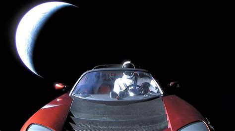 elon musk car astronomers have recorded telescope footage of elon musk s