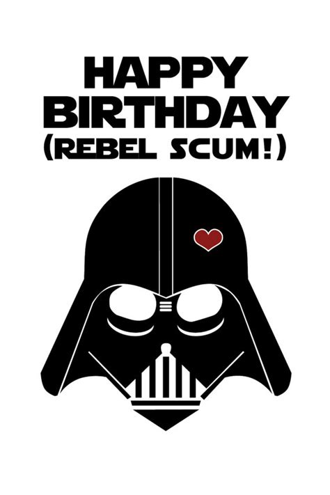 printable birthday cards star wars star wars funny birthday card diy printable
