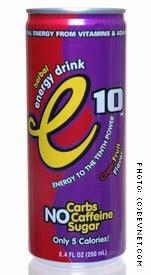 e on energy drink review e10 energy drink bevnet product reviews bevnet