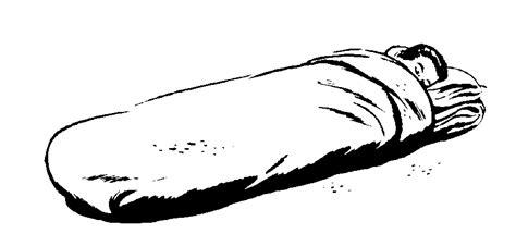 girl sleeping bag clipart 34