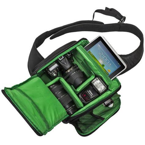 tas kamera slr sling dslr backpack bag green jakartanotebook
