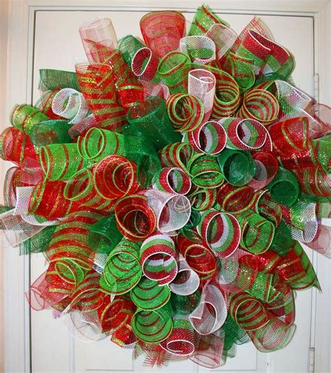 mesh wreath ideas mesh wreaths deco poly mesh spiral wreath by