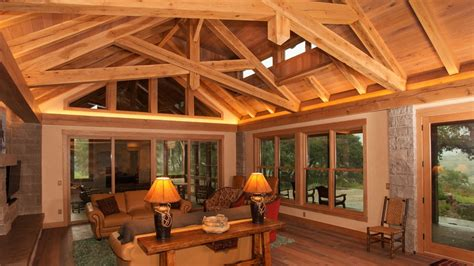 Timber Frame Home Interiors by Texas Timber Frames Timber Frame Homes Trusses Amp Kits