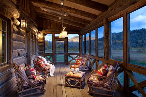 outstanding rustic porch designs   fall  love