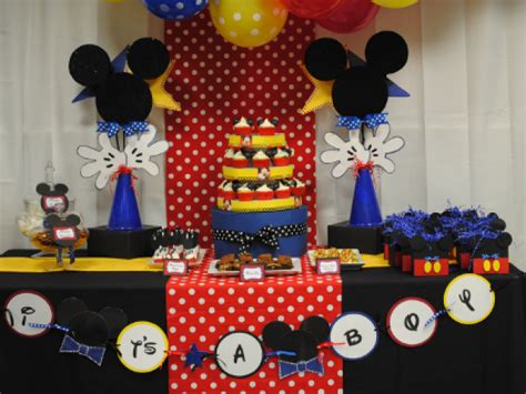 Mickey Mouse Baby Shower Themes by Disney Mickey Baby Shower Themes Baby Shower Decoration