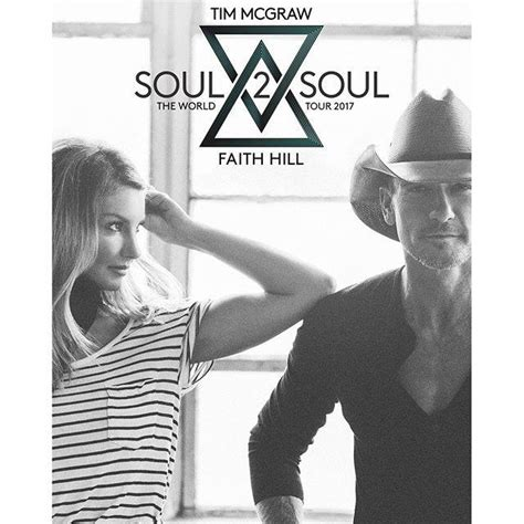 Tim Mcgraw And Faith Hill Greatest Story by Tim Mcgraw And Faith Hill Announce Soul2soul The World