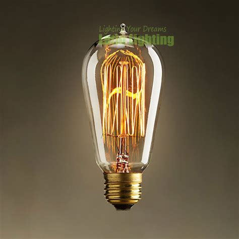 Filament Light Bulb Fixtures 40w 220v E27 Filament Edison Bulbs Incandescent L Decor Light Vintage Bulbs Filament