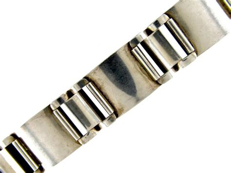 polar silver enamel bracelet the antique