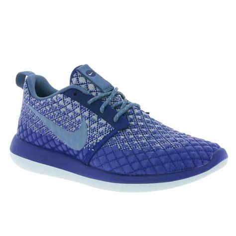 Nike Roshe Blue Grey Nike 078 44 nike shoes sale nwt nike roshe two flyknit 365 blue grey from s closet on