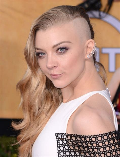 Natalie Dormer Shave 22 Trendy Chic Undercuts For 2016 Pretty Designs