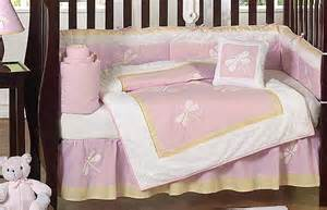 Dragonfly Crib Bedding Set Jojo Designs Cheap Pink Dragonfly 9pc Baby Crib Bedding Set Room Collection Ebay